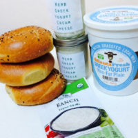 Herbed Greek Yogurt Cream Cheese